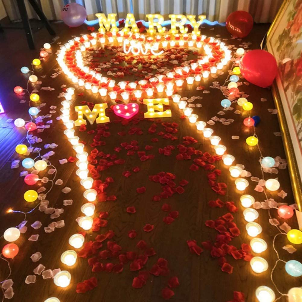 suprise party Candle Light, decoration