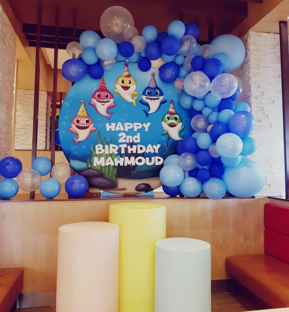 Under Water Sea Balloons Decoration