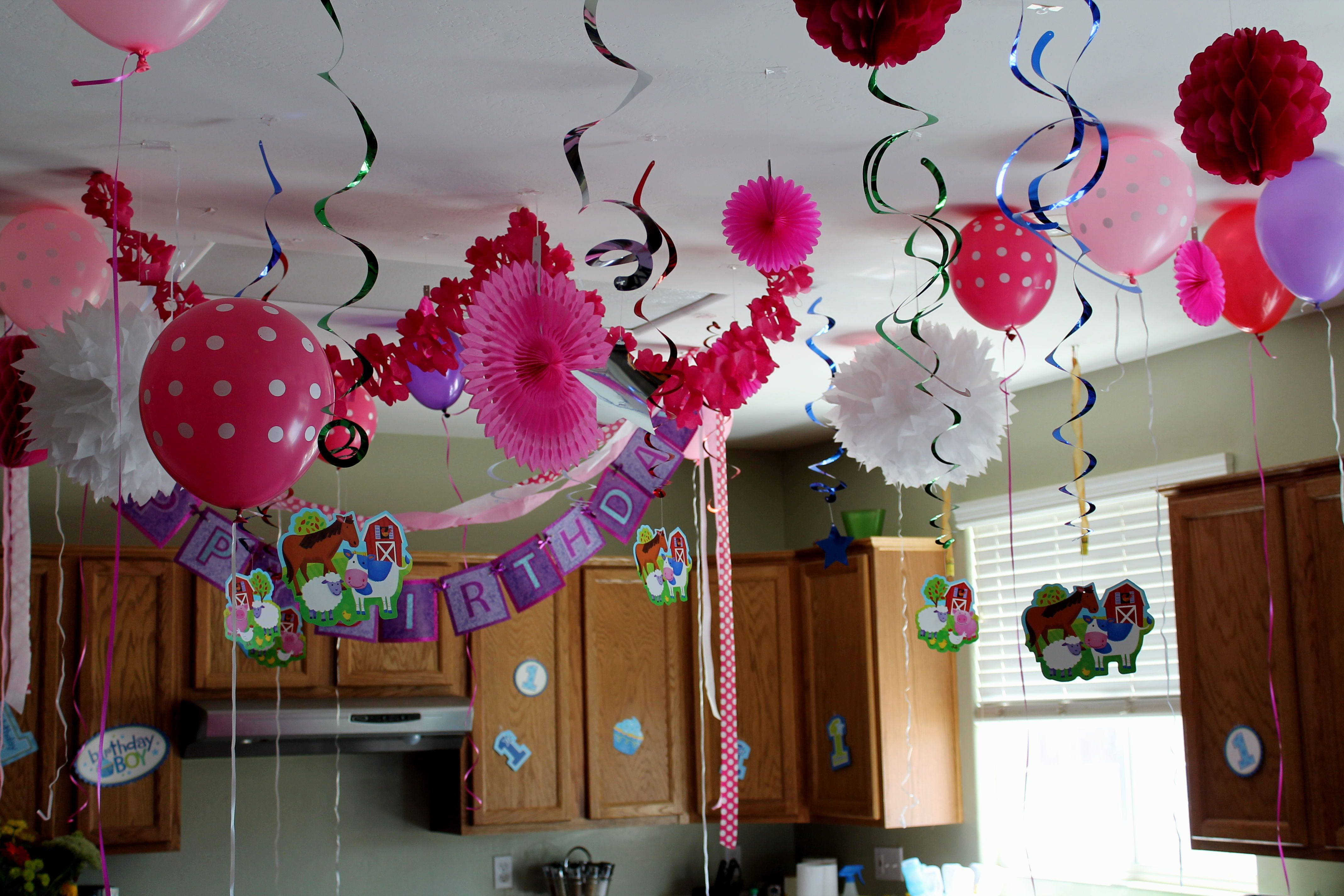 balloons decoration house party in c-scheme jaipur